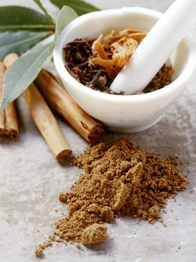 Indian Garam Masala and Ingredients by Eising Studio - Food Photo and Video