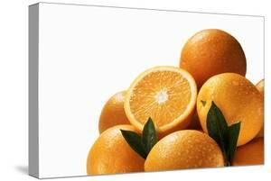 Oranges with Leaves by Eising Studio - Food Photo and Video