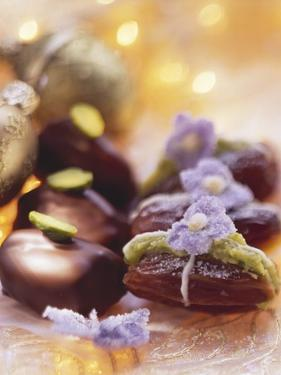 Pistachio Dates (Dates Stuffed with Pistachio Marzipan) by Eising Studio - Food Photo and Video