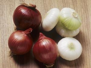 Red and White Onions by Eising Studio - Food Photo and Video