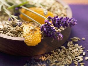 Spices for Fish Dishes (Fennel Seeds and Lavender Flowers) by Eising Studio - Food Photo and Video