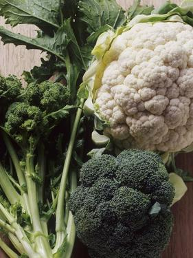 Still Life with Broccoli and Cauliflower by Eising Studio - Food Photo and Video