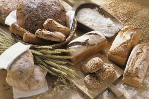 Still Life with Several Types of Bread and Rolls by Eising Studio - Food Photo and Video