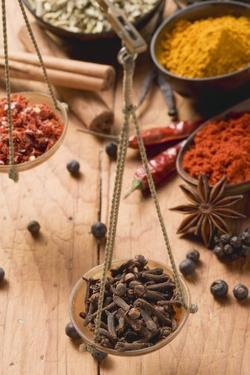 Still Life with Spices and Scales by Eising Studio - Food Photo and Video