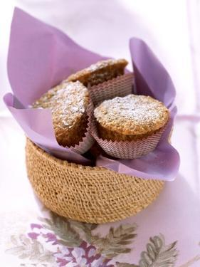 Sweet Courgette Muffins and a Cup of Tea by Eising Studio - Food Photo and Video