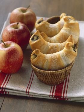 Sweet Croissants with Poppy Seed and Apple Filling by Eising Studio - Food Photo and Video