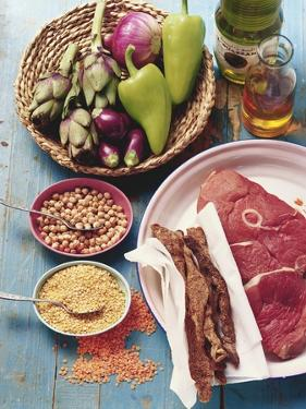 The Most Important Ingredients of Moroccan Cooking by Eising Studio - Food Photo and Video