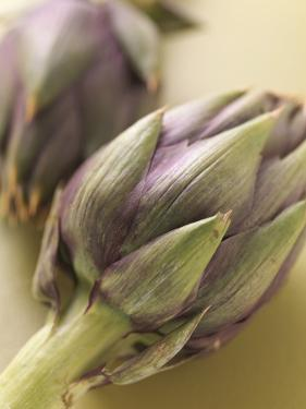 Two Artichokes by Eising Studio - Food Photo and Video