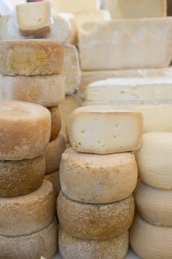 Various Cheeses in a Shop by Eising Studio - Food Photo and Video