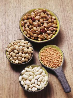 Various Dried Pulses by Eising Studio - Food Photo and Video