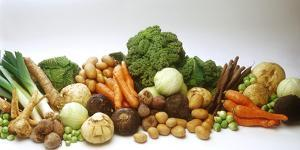 Various Types of Root Vegetables, Cabbages and Leeks by Eising Studio - Food Photo and Video