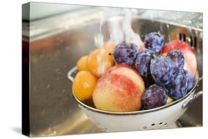 Washing Plums, Peaches and Apricots by Eising Studio - Food Photo and Video