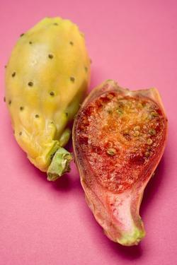 Whole and Half Prickly Pear by Eising Studio - Food Photo and Video