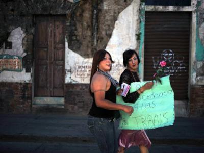 Transsexuals March in Guatemala City On