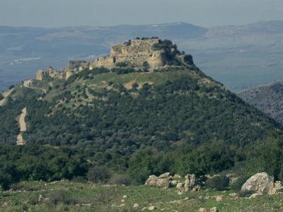 Nimrod Crusader Fort, Galilee Panhandle, Upper Galilee, Israel, Middle East by Eitan Simanor