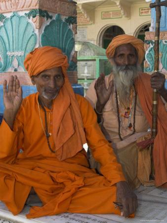 Pilgrims at the Brahma Temple, Followers of the Hindu God of Creation, Pushkar, India by Eitan Simanor