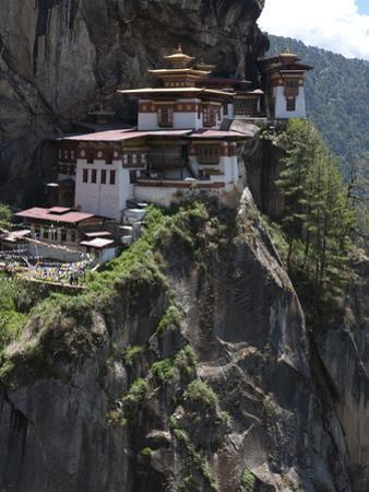Taktshang Goemba (Tigers Nest Monastery), Paro Valley, Bhutan, Asia by Eitan Simanor