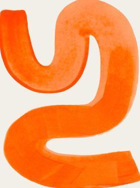 Orange Shrug by Ejaaz Haniff