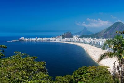 Copacabana Beach in Rio De Janeiro, Brazil by ekaterina_belova