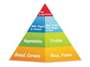 Food Pyramid by ekler