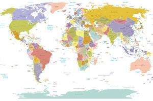 World Map by ekler