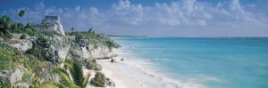 El Castillo, Quintana Roo Caribbean Sea, Tulum, Mexico