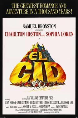 El Cid, 1961, Directed by Anthony Mann