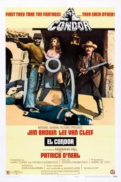 El Condor, Jim Brown, Mariana Hill, Lee Van Cleef, 1970