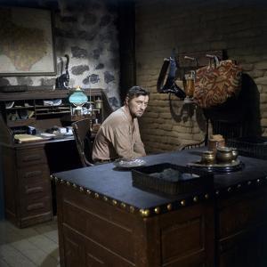 EL DORADO, 1967 directed by HOWARD HAWKS Robert Mitchum (photo)