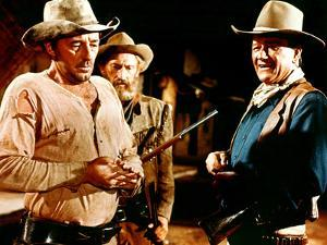 El Dorado, Robert Mitchum, Arthur Hunnicutt, John Wayne, 1967
