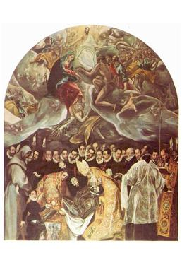 El Greco (Burial of Count Orgaz) Art Poster Print