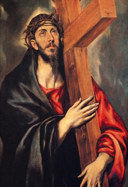 El Greco Christ Carrying the Cross 2 Art Print Poster