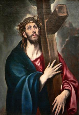 El Greco Christ Carrying the Cross Art Print Poster