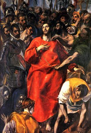 El Greco Disrobing of Christ Art Print Poster