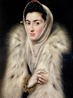 Lady in a Fur Wrap by El Greco