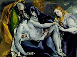 Pieta, 1587-97 by El Greco