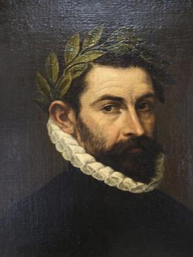 Portrait of the Poet De Alonso Ercilla Y Zuniga, C1576-C1578 by El Greco
