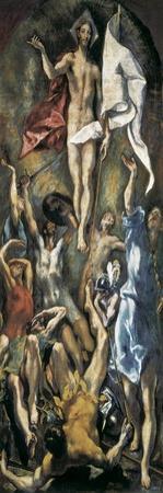 Resurrection by El Greco
