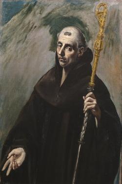 Saint Benedict of Nursia, 1577-1579 by El Greco