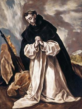 Saint Dominica in prayer by El Greco