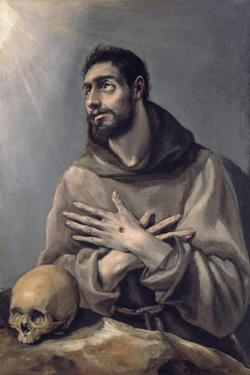 Saint Francis in Ecstasy, C. 1580 by El Greco