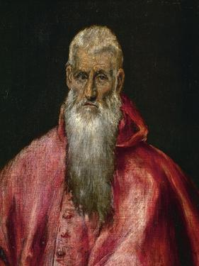 Saint Jerome as a Cardinal by El Greco
