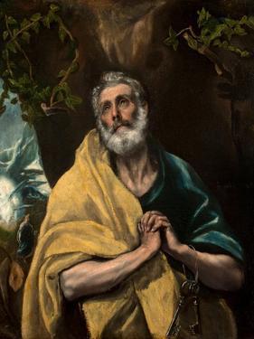Saint Peter in Tears by El Greco
