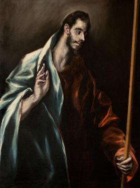 Saint Thomas the Apostle by El Greco