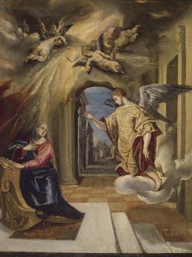 The Annunciation, 1570-1572 by El Greco