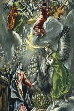 The Annunciation, Ca 1596-1600 by El Greco