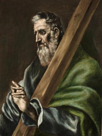 The Apostle St. Andrew, c.1600 by El Greco
