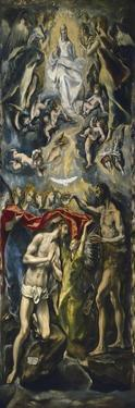 The Baptism of Christ, 1597-1600 by El Greco