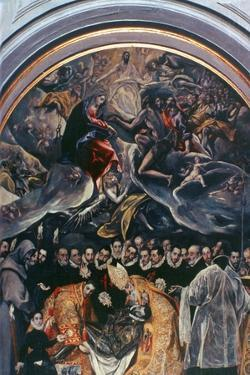 The Burial of Count Orgaz' (Detail), 1586-1588 by El Greco