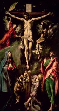 The Crucifixion, circa 1584-1600 by El Greco